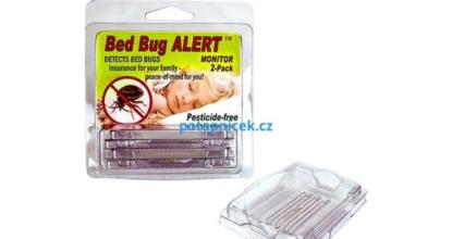 Monitorovací past na štěnice Bed Bug Alert