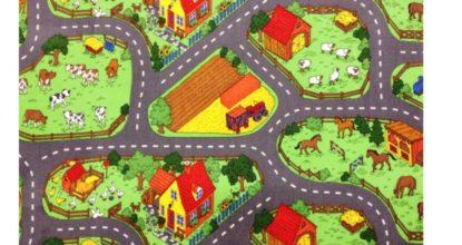 detsky koberec farma